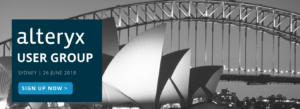 Alteryx User Group Sydney